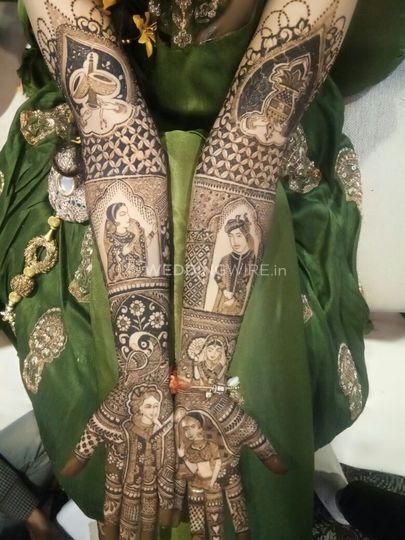 Deepak Mehandi Art, Agra