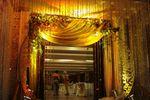 Wedding entrance decor