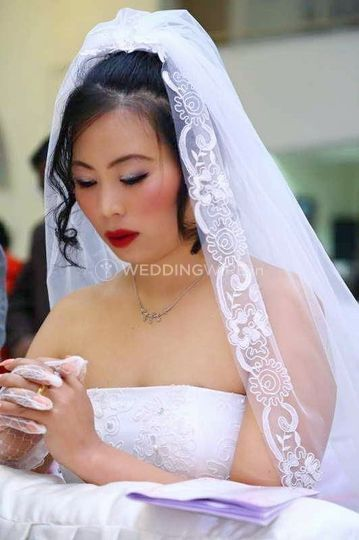 The Christian Bride From Bridal Makeup Artistry By Clara Photo 8