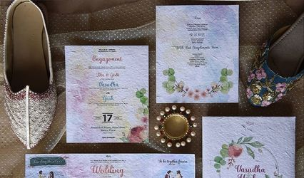 Seed Paper Invites by Plantables, Hyderabad