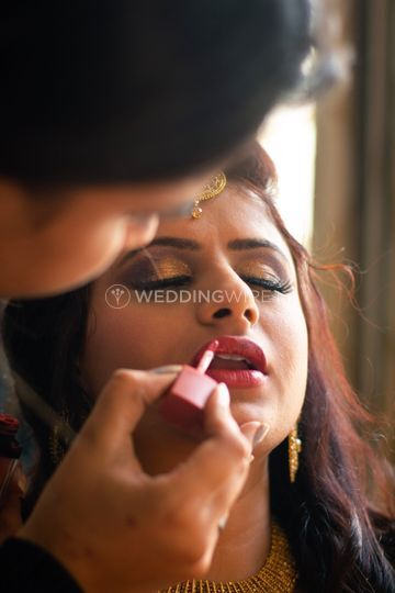 Engagement makeup