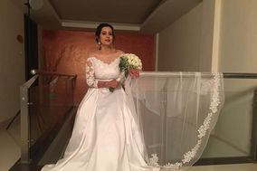 Christian Wedding Gown and Makeup