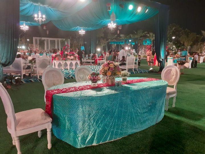 Wedding venue-Wedding decor