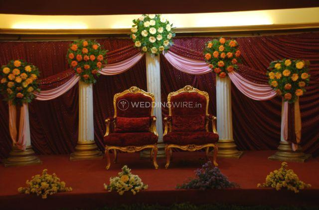 Wedding decoration of Hotel Deva Residency