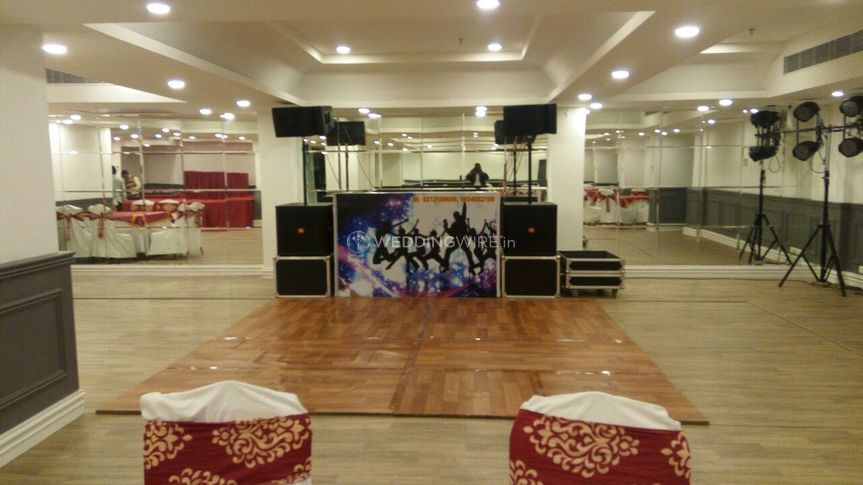 Banquet hall and dancefloor