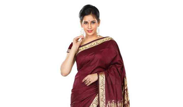 Rishabh fashion designer saree