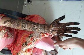 Mehandi Art by Sanjida, Jaipur