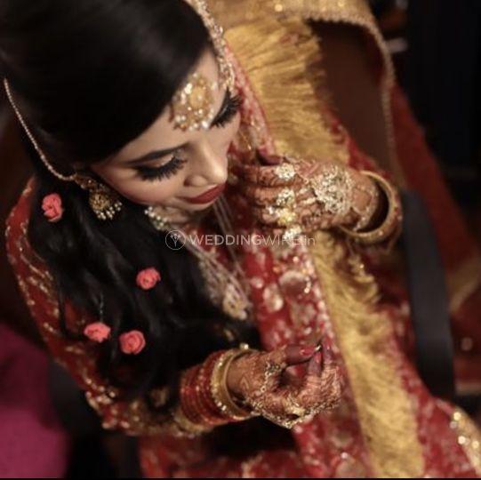 Nikaah bride 😍