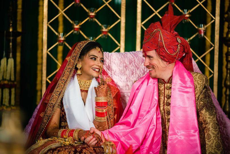 Garima & Justin NRI Wedding