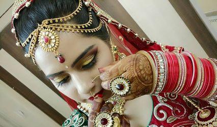 Areeba Iram the Make-Up Artist