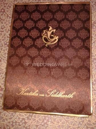 Divya wedding cards