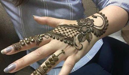 Aakash Mehndi Art, Aliganj
