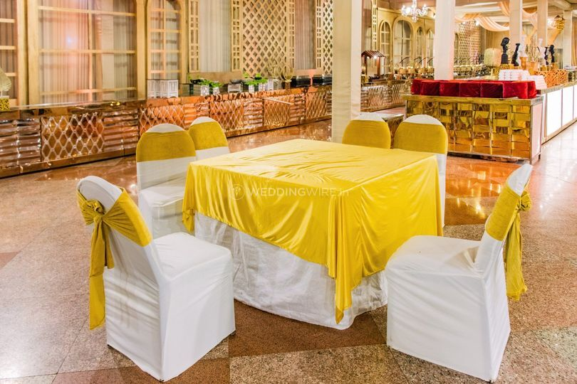Wedding venue-Seating setup