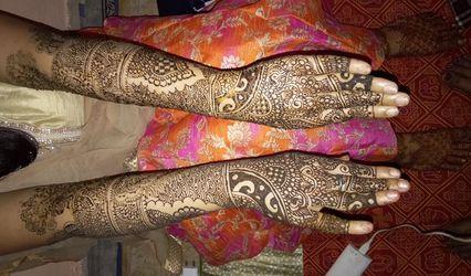 Diksha Mehendi Designer