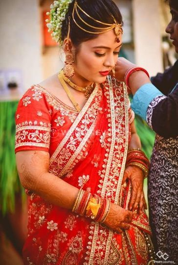 Bridal makeup from Makeover Studio By Hema | Photo 18