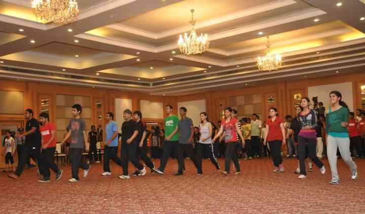 Dancing with Shubham