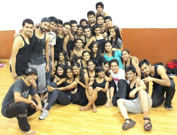 Dancing with Shubham