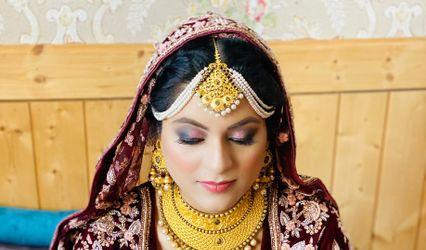 Aleesha Makeup, Srinagar