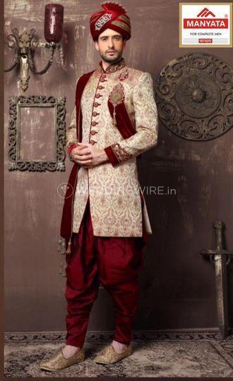 Wedding indowestern
