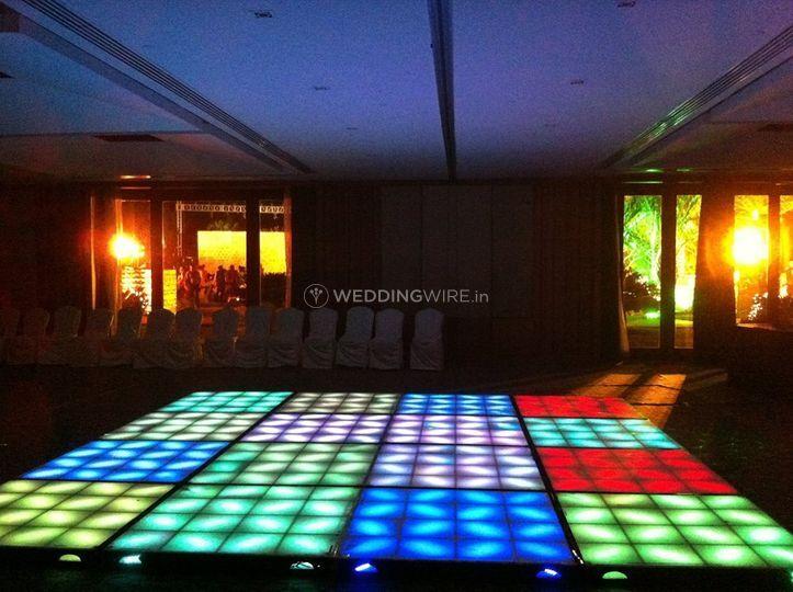DJ KD and the vibrant dance floor
