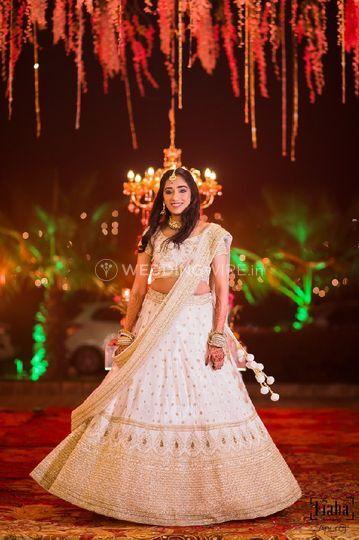 Gauri at her sisters wedding
