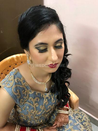Reception makeup
