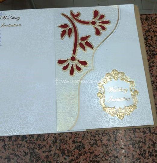 Wedding Invitation Card From Golden Card Creation Bangalore Photo 5