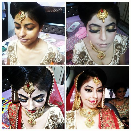 Before n after bridal