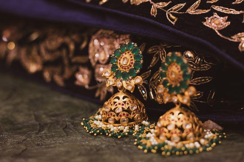 Heritage Jhumkas