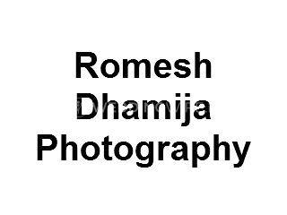 Romesh Dhamija Photography Logo