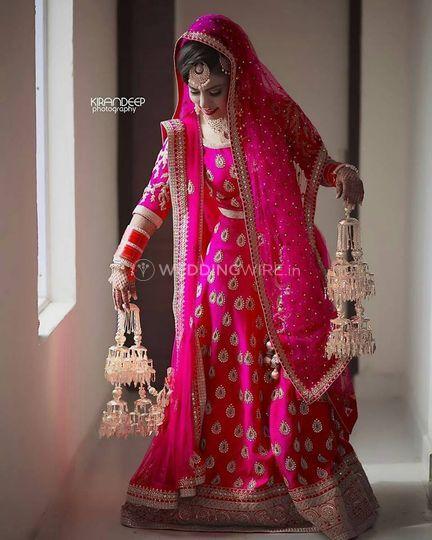 Miss Pink Punjabi Bride