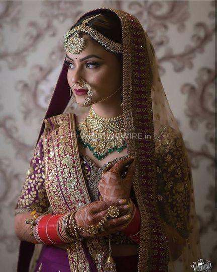 The Royal Bride Look