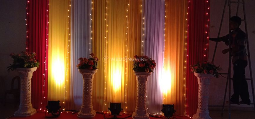 Stage  for sangeet