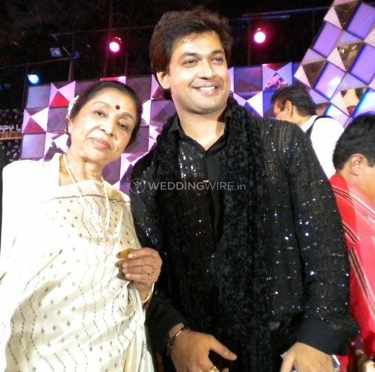 Ravi Tripathi, Asha Bosle