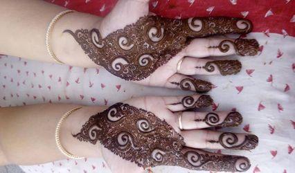 Poonam Agarwal Mehndi Designs