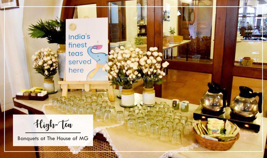 Hi tea at The Green House