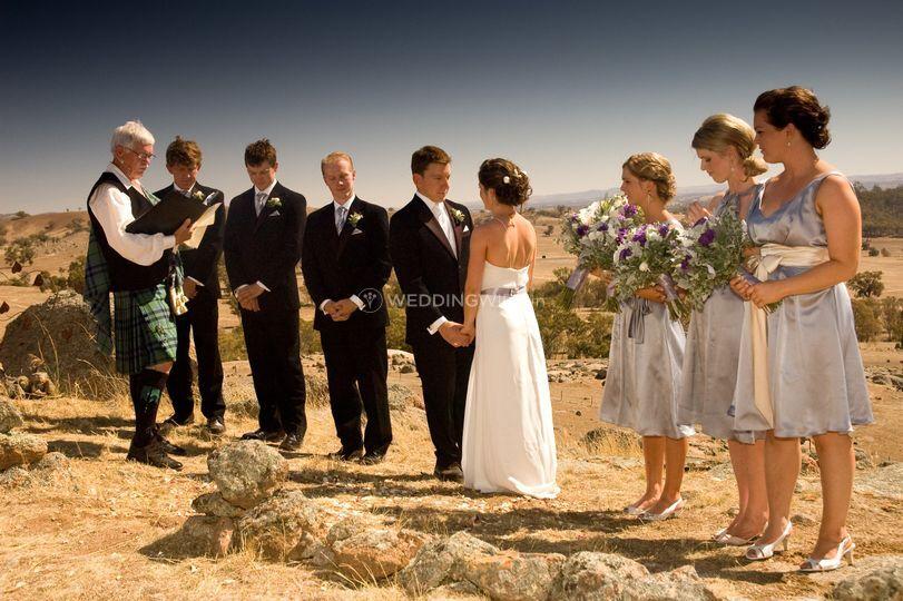 Wedding outdoor australia