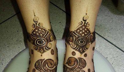 Heena Harsha Mehendi Artist