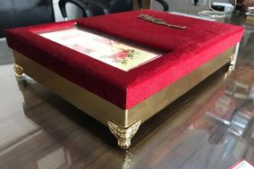 Sikka Wedding Card And Boxes