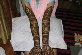 Bridal Mehandi Art by Nitesh Sahni