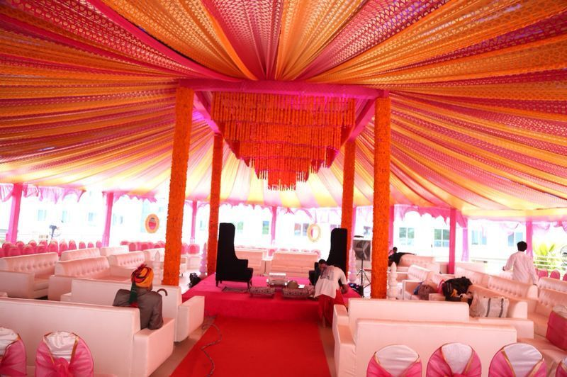 Mandap at sky terrace