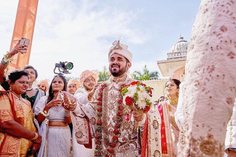 Wedding shot