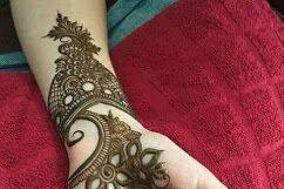 Asha Kapoor Mehandi Design