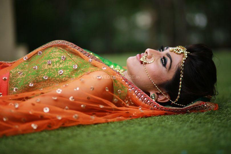 North Indian makeup