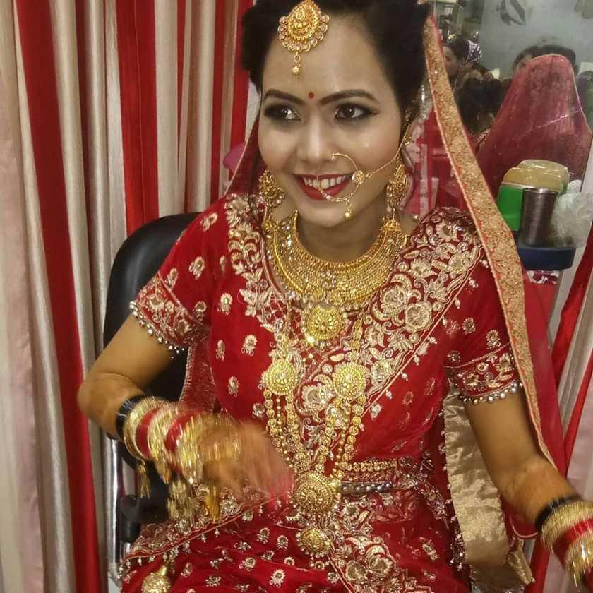 Bridal Makeup From Rimzim Beauty Parlour Photos