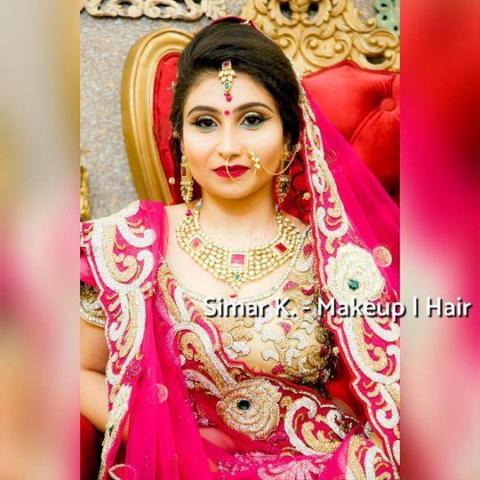 Simar K. - Makeup & Hair