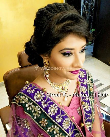 Simar K Makeup Hair