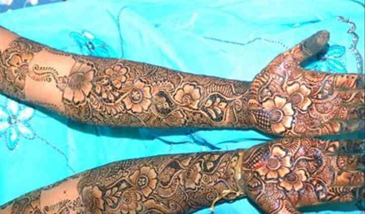 Sakina Mehendi Design
