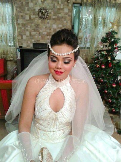 Church bride