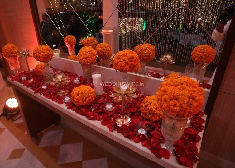 Decoration and setup